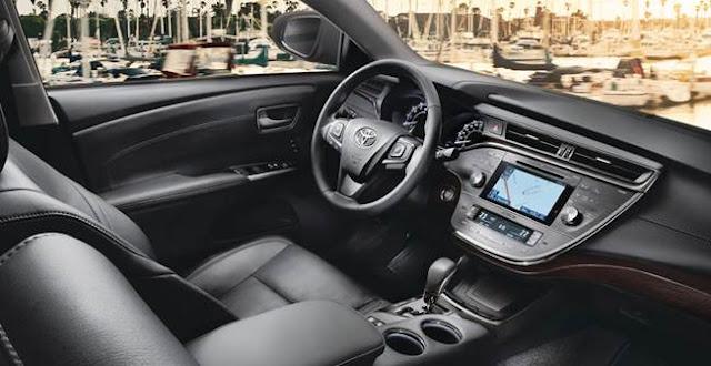 2017 Toyota Avalon Changes