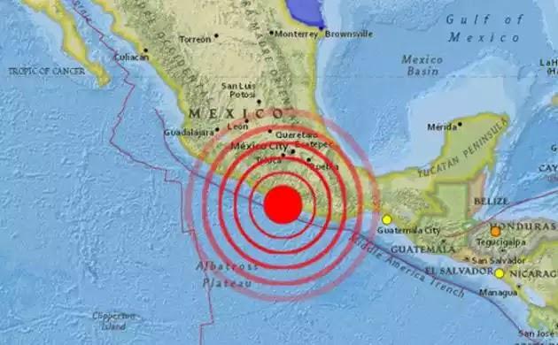 H στιγμή που ο φονικός σεισμός 8,1 Ρίχτερ χτυπά το Μεξικό τα πρώτα βίντεο την στιγμή του σεισμού