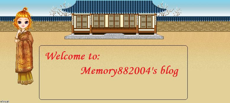memory882004' blog