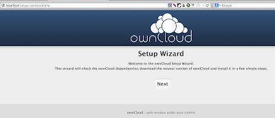 Install ownCloud using the Web Installer