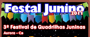 VEM AÍ O 3º FESTAL JUNINO - DIA 29 DE JUNHO