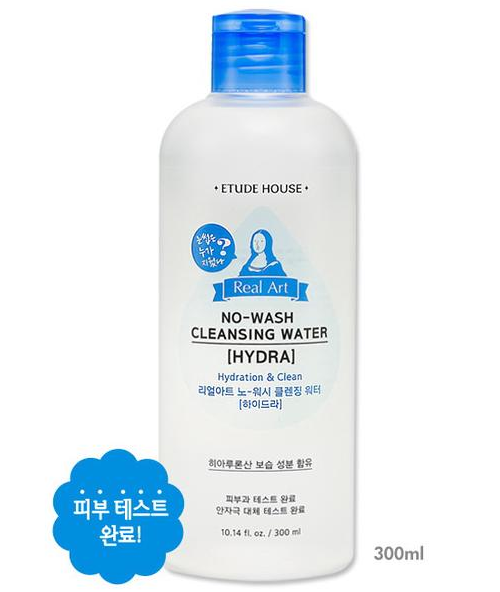 Real Art No Wash Cleansing Water Hydra