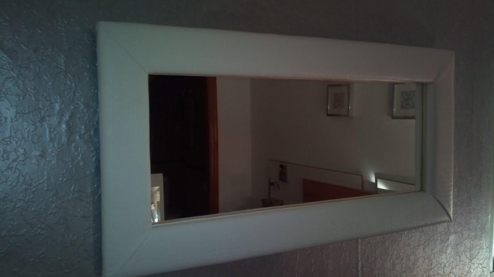 Absolut decoradores marcos con espejo tapizados espectacular - Hacer marco espejo ...