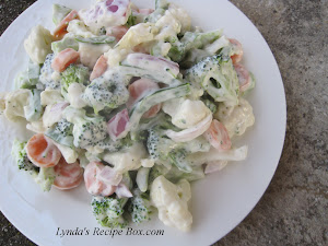 Fresh Broccoli and Califlower Salad
