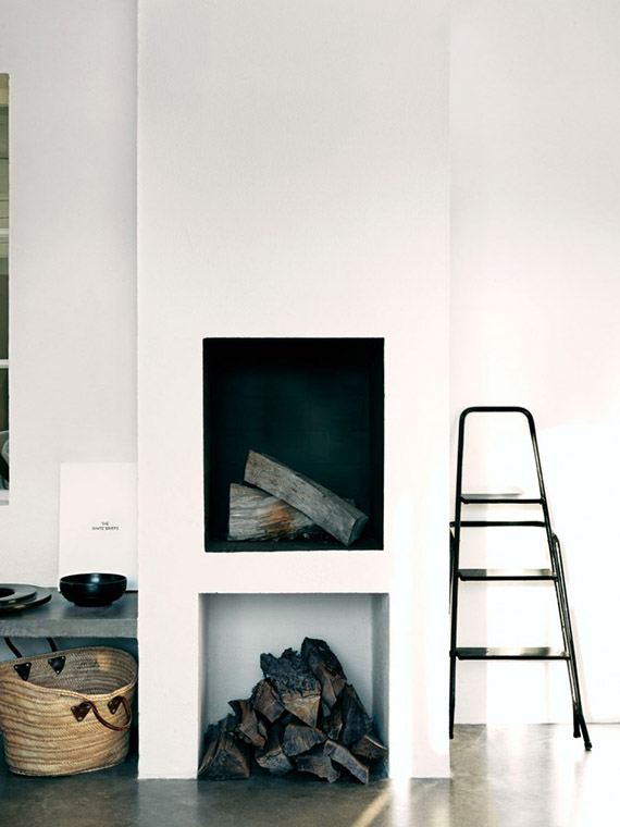 DECOR TREND: Minimalist fireplace | Jonas Ingerstedt