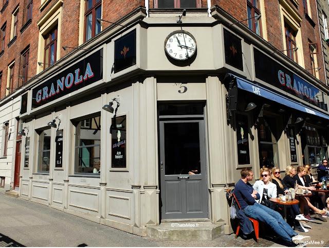Brunch Restaurant Granola, Copenhague Frederiksberg