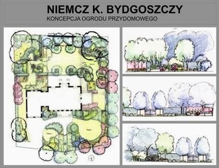 Bydgoszcz ogród prywatny