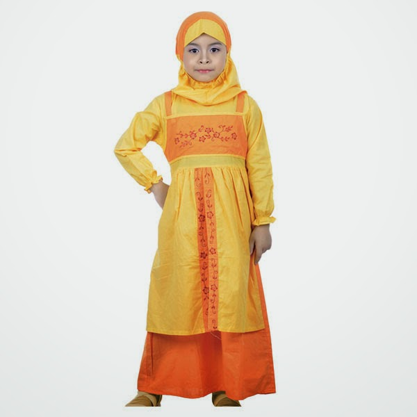 Gambar busana muslim anak perempuan untuk mengaji