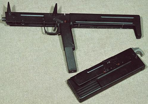 folding machine gun