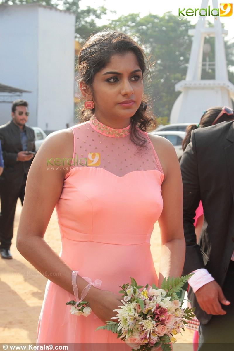 Meera Nandan Latest Hot Photos From Ann Augustine Wedding