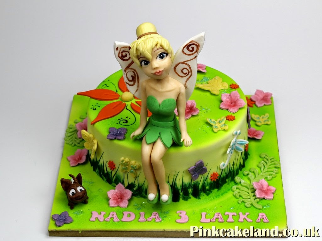 Tinker Bell Birthday Cake in London