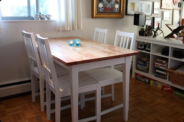 Bj Rkudden Modern Harvest Table Get Home Decorating