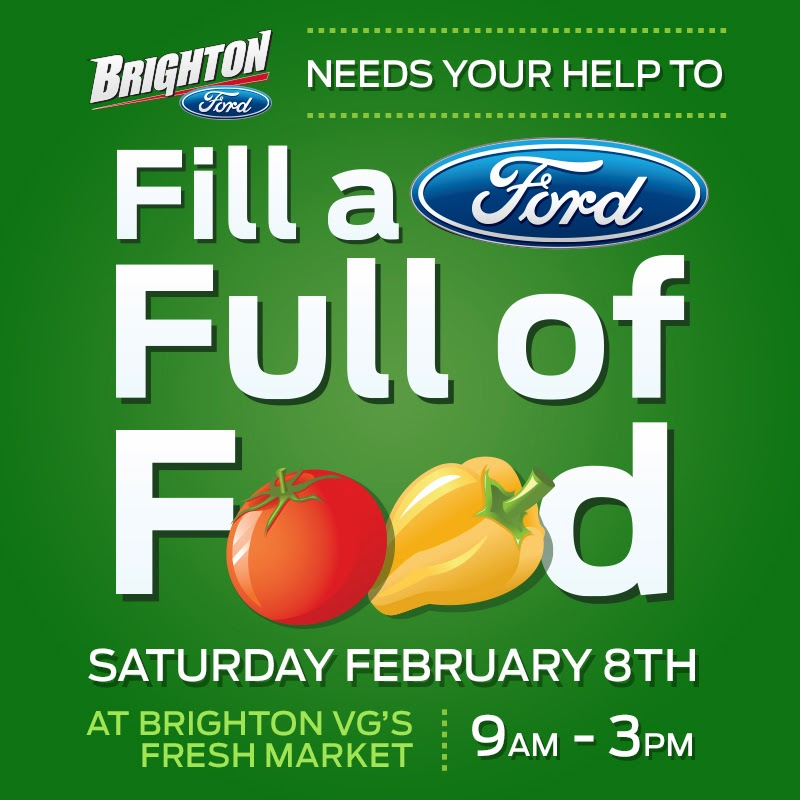 Help Brighton Ford Fill-a-Ford with Food for The Salvation Army