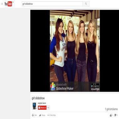 youtube com - müjdat demir - girl slideshow