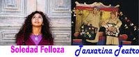 foto de soledad Felloza e Tanxarina Teatro