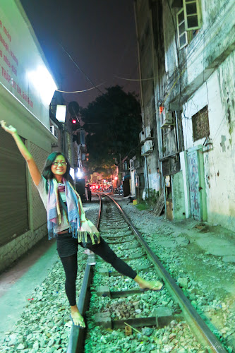Old Railway in Hanoi, Vietnam