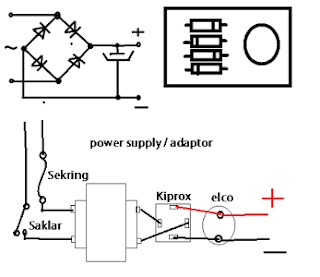 Simple Power Supply Schematic diagram