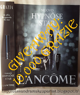 GIVEAWAY - Lancome Hypnose Star GRAZIA