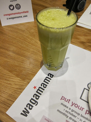 Super Green juice from wagamama | The Economical Eater