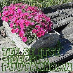 Tee se itse puutarhaan -blogi