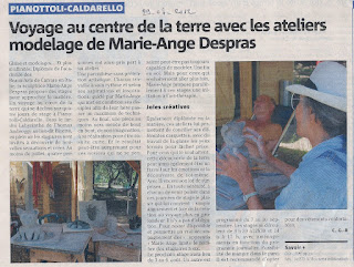 Despras Marie Ange Ateliers Modelage