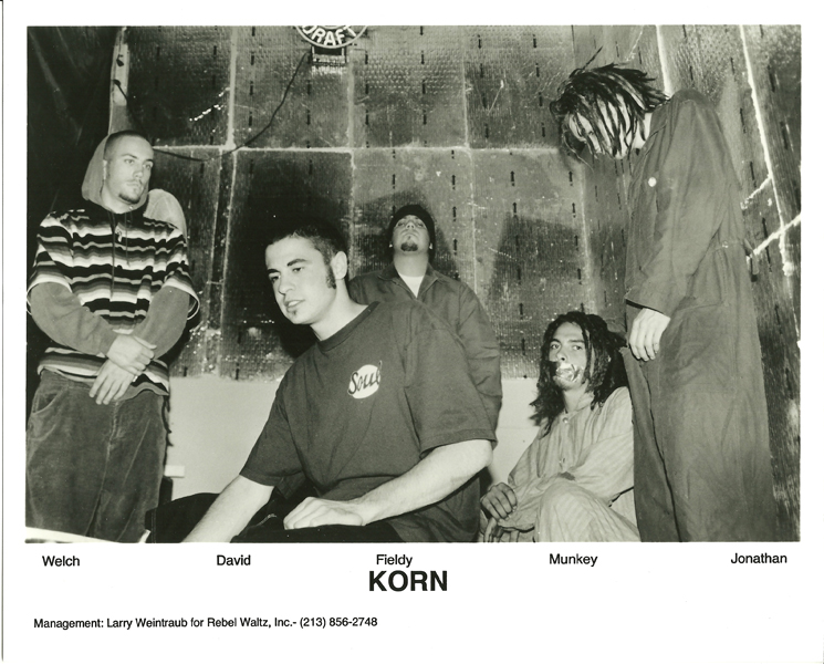Korn Press Kit Photo