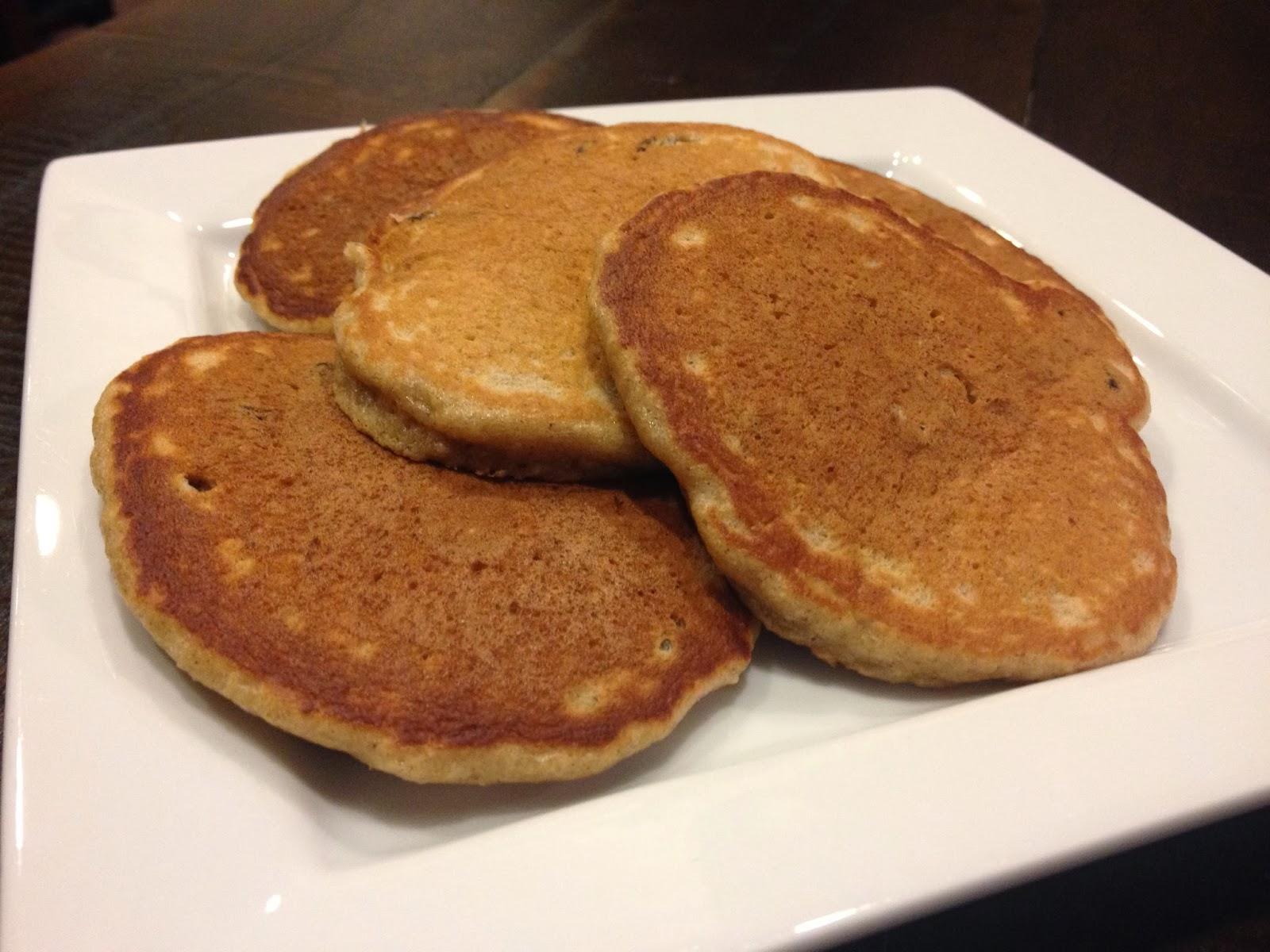 Our Sweet Lemons: Oatmeal Cookie Pancakes