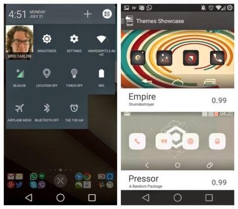 Android L Nexus 5 2
