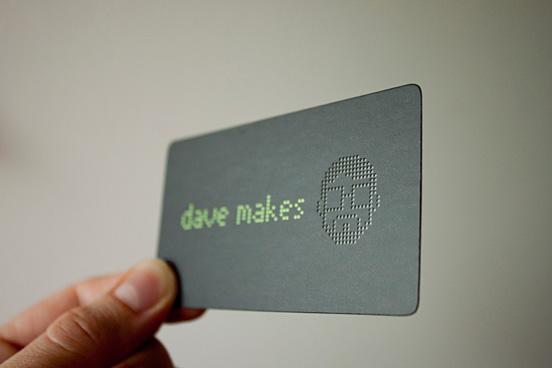 tarjeta croquelada