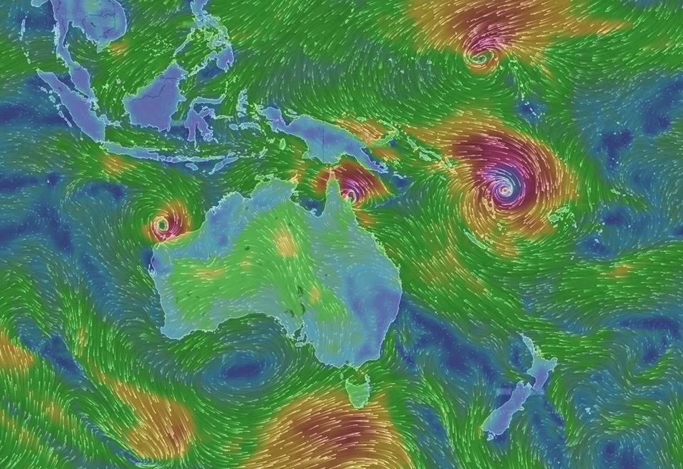 La flotte de la VOR clouée à Auckland.