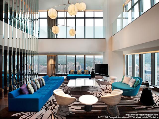 Les plus beaux hotels design du monde h tel w taipei by for Design hotel taipei