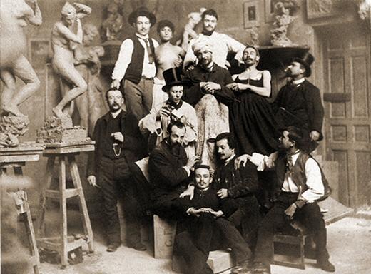 Art lifestyle beaux arts school of paris the artists 19th century - Ateliers d arts de france ...
