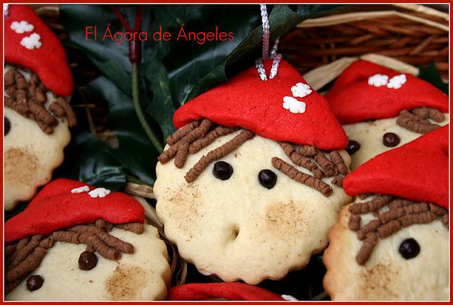 Galletas duende de navidad