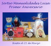 Sorteo 1º aniversario del blog de Luisa