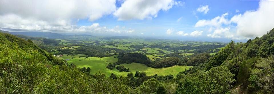 Kiama NSW Australia - Saddleback Mountain Lookout Panorama