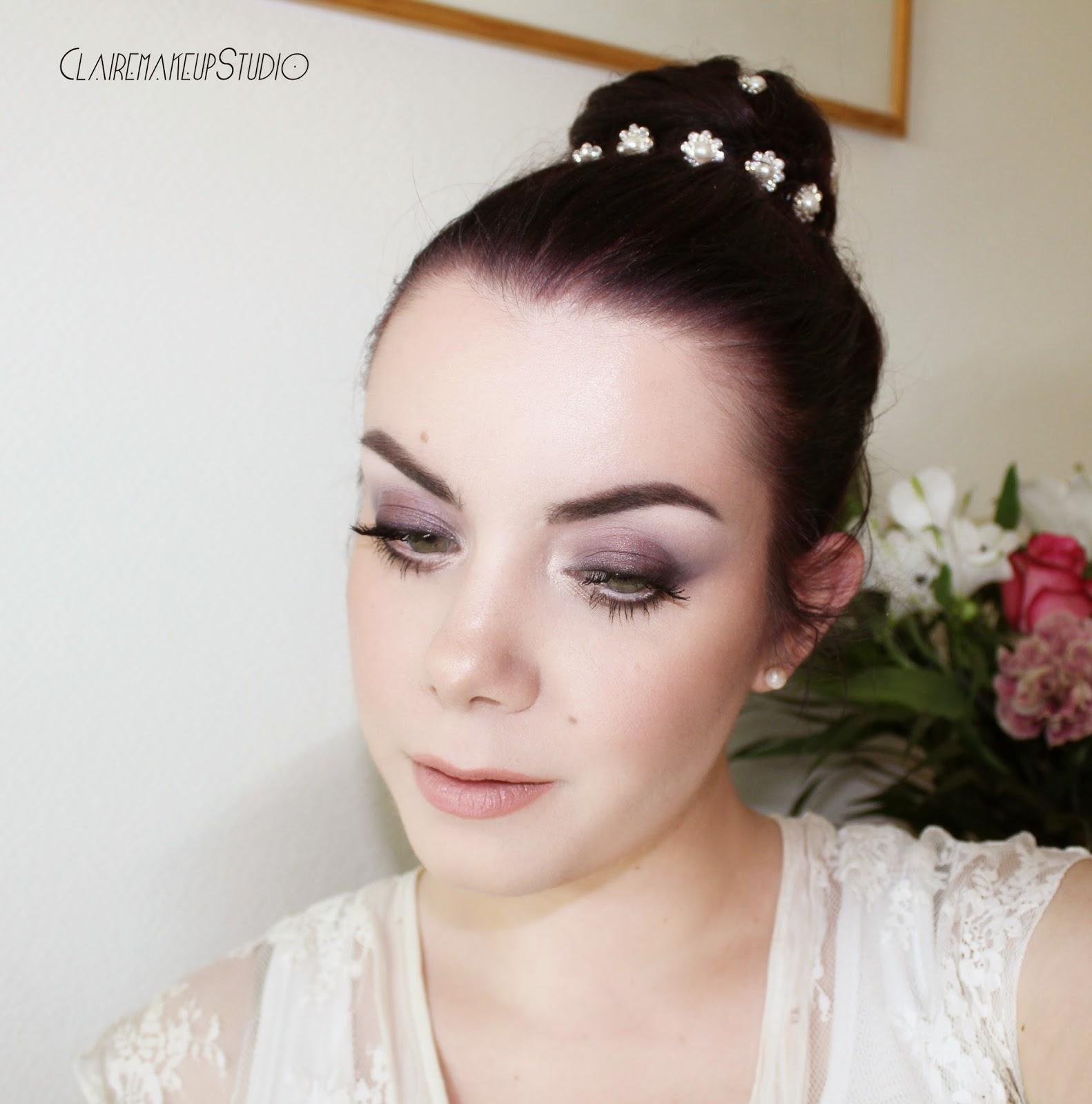 ClaireMakeupStudio: Romantic Bridal Wedding make-up ...