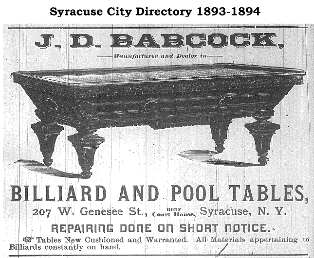 Then And Now: Here Is An Unrestored End Panel Of This Same Model J.D.  Babcock Billiard Table (courtesy Of Bankshot Antique Pool Tables, Albany, NY ).