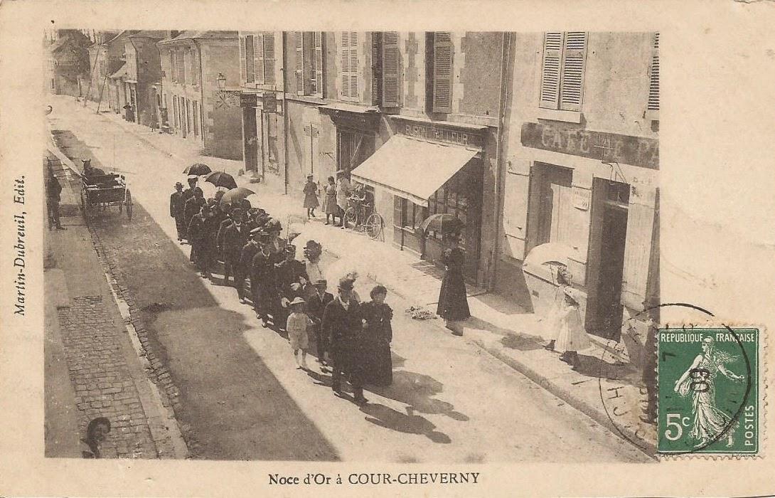 Noces d'or à Cour-Cheverny