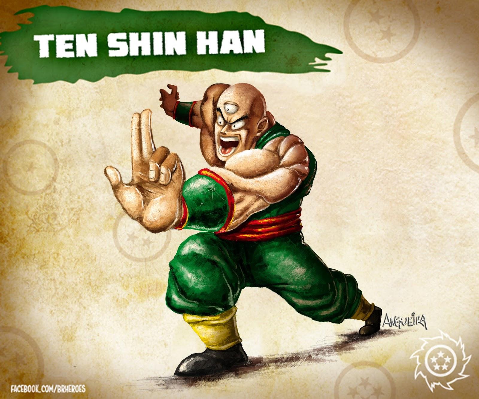 How to draw Ten Shin Han