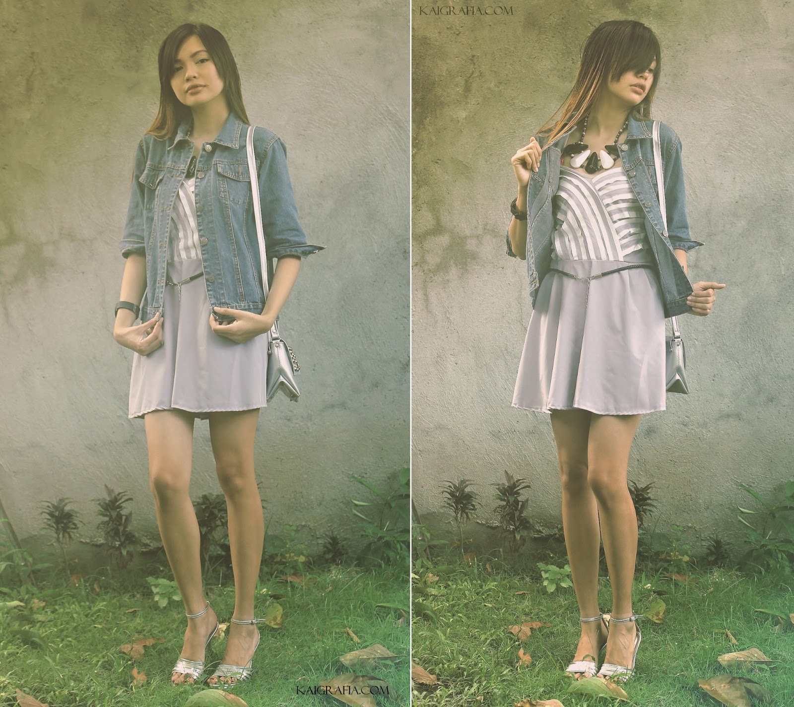 Denim Jacket and Dress