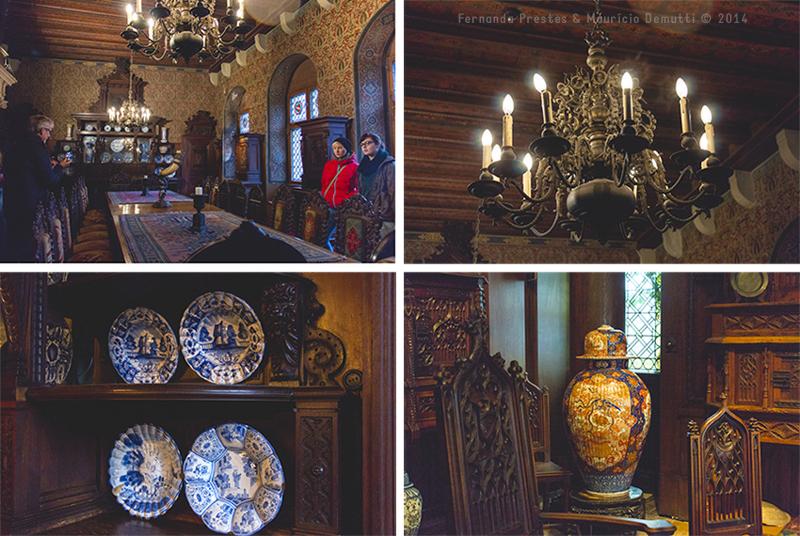Detalhes do Castelo de Reichsburg