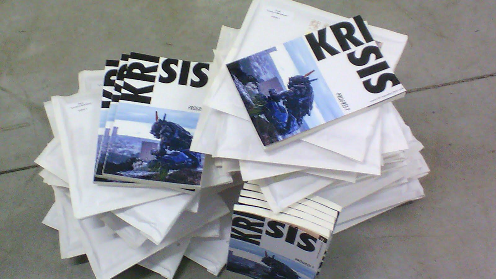 Recevoir les numéros de Krisis en avant-première ?
