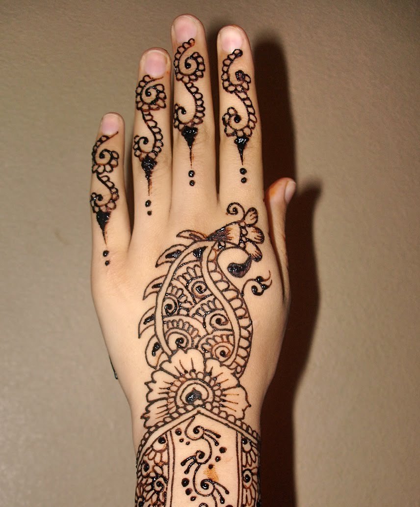 18 Fashion Henna Mehndi Design