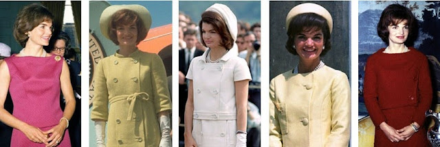 Jackie Kennedy pastel suits