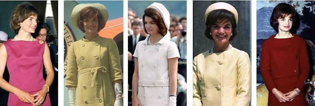 Jackie Kennedy pastel suits