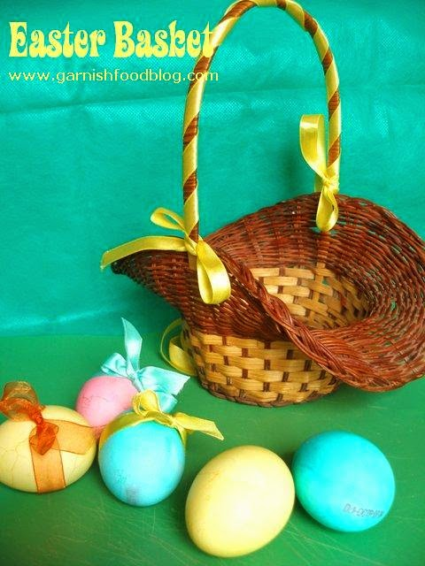 how to decorate the easter eggs