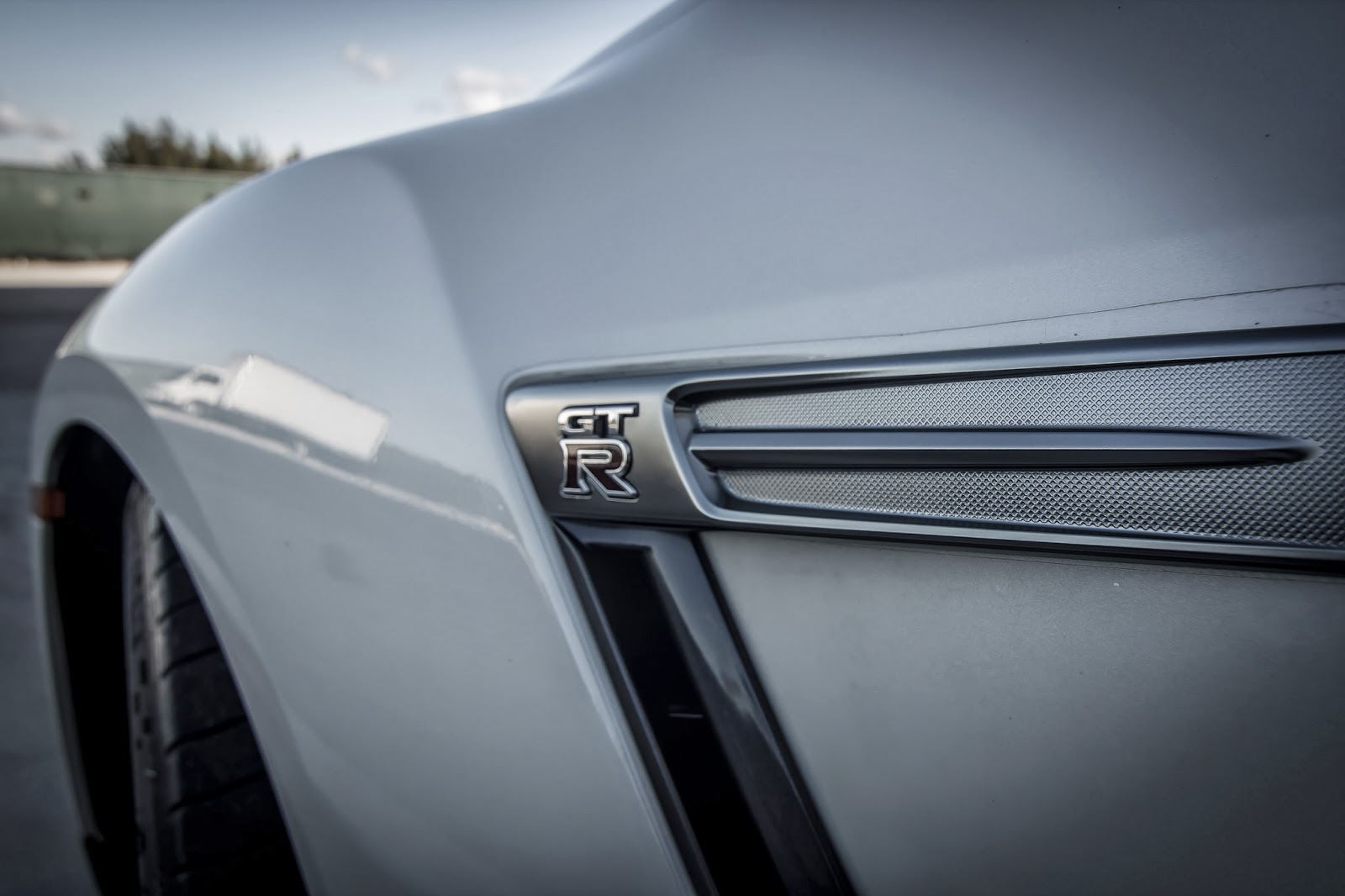 2010 Nissan GTR Wing Badge