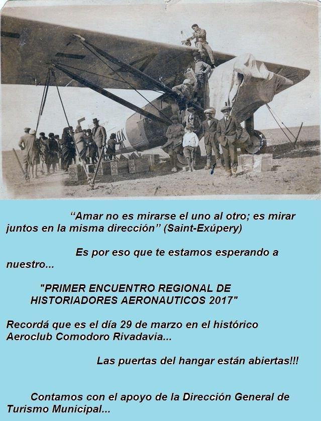 Primer Encuentro Regional de Historiadores Aeronáuticos 2017