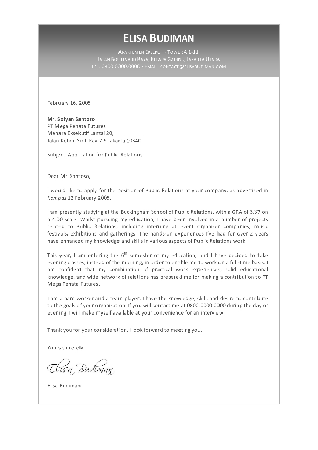 Cover letter examples accounting graduates