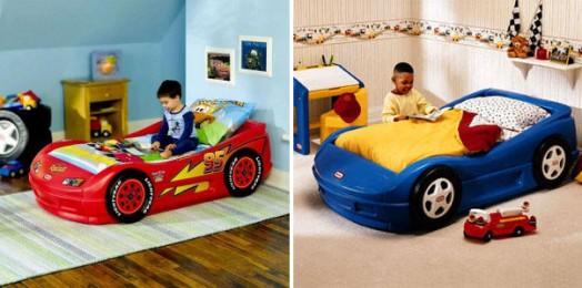 Dormitorios camas en forma de coches para ni os - Cama coche para ninos ...
